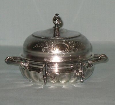 Forbes Silver Co. Silver Dish & Lid