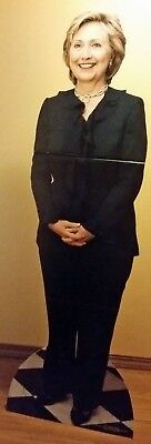 NEW Hillary Clinton Cardboard Cutout Life Size Standee Stand Up Cut Out