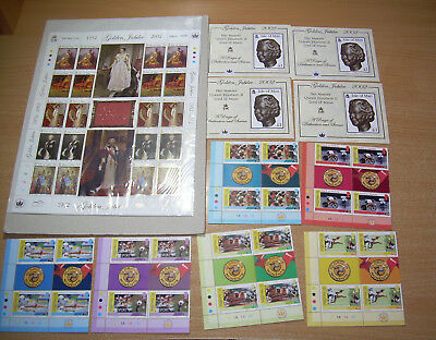 Stamps Isle of Man Collection 2002. Postage Collect Mint sheets. £35 pounds face