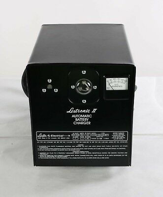 24LC40-8ET Lestronic II Automatic Battery Charger Model 14150