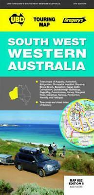 South West Western Australia 682 r/v (r) by Universal Publishers | Map Book | 97