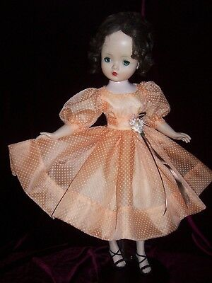 Day Dress Of Vintage Dot Swiss + Petti & Panty ~ For Madame Alexander Cissy Doll