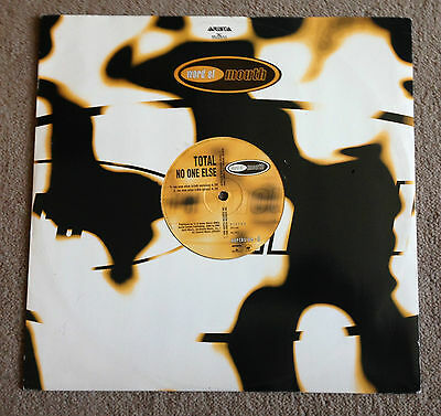 """Total - No One Else, A 4-Mix 12"""" Vinyl, Word Of Mouth, No 001 (1996)"""