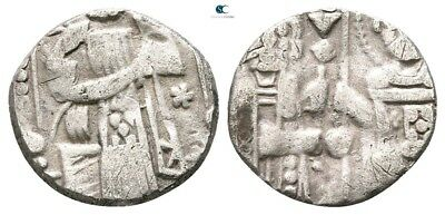 Savoca Coins Italy Venice Grosso Doge Christ St. Marco 0,77 g / 11 mm @TAD7395
