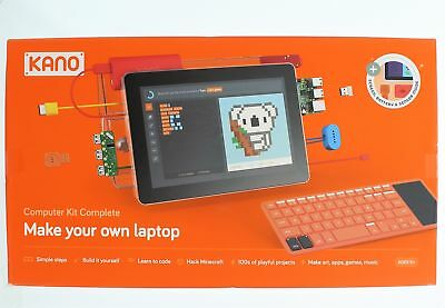 Kano Computer Kit Complete Make Your Own Laptop Element14 Raspberry Pi 3 Model