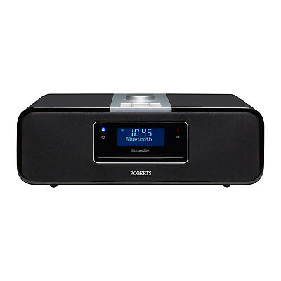Roberts Radio BLUTUNE200 DAB/FM Sound System with CD Bluetooth & USB Connection