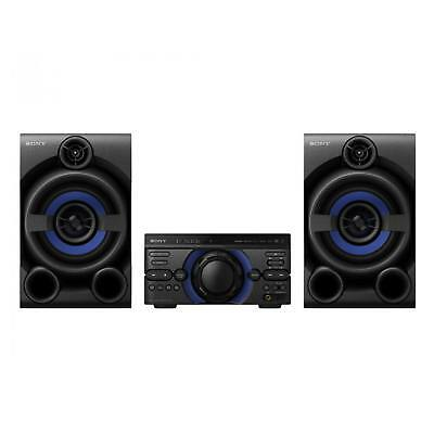 Sony MHCM20D High Power Three Box Music System with Bluetooth in Black