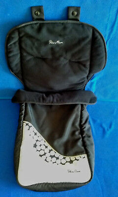 Silver Cross Cosy-toes Footmuff for Pram/buggy Black