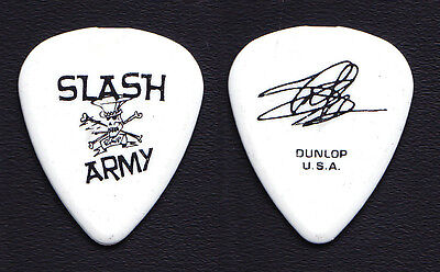 Slash & the Conspirators Slash Army Signature Guitar Pick 2 2011 Solo Tour GNR