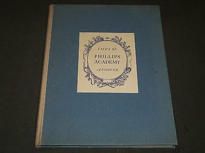 1928 Views Of Phillips Academy Andover Hardcover Book - Nice Photos - Kd 1350F