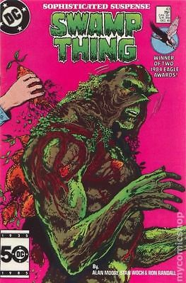 Swamp Thing (2nd Series) #43 1985 VF Stock Image