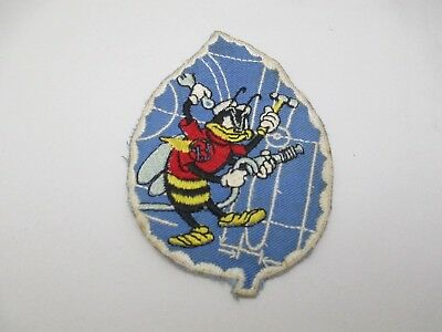 Vintage Rare Version WWII SEABEES Cheesecloth Backed Jacket Patch