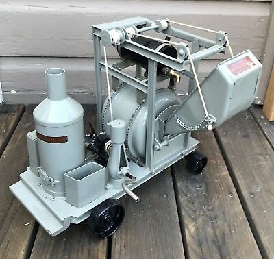 Antique BUDDY L Toy PRESSED STEEL CEMENT CONCRETE MIXER CONSTRUCTION Tool