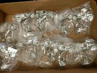 10 lot of Trophy Vintage Style Car Pattern Topper Award Plastic Part Art Craft