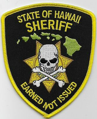 Neat State of Hawaii Sheriff Narcotics Unit State Police HI