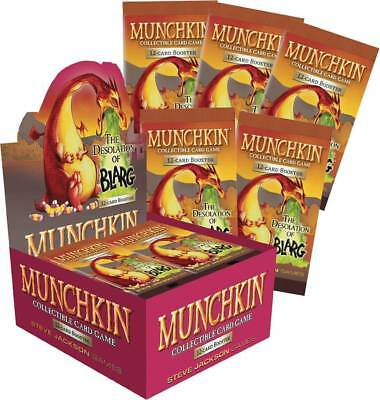 Munchkin Ccg Desolation Of Blarg Booster Box Sealed Full Card Game