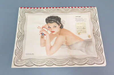Vintage 1942 Esquire, Inc Varga Pin Up Girl Calendar