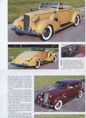 1936 1937 1938 CADILLAC 60  75 80 FLEETWOOD 90 12 page COLOR Article