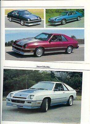 1983-1986 DODGE SHELBY CHARGER 2.2 5 page Color Article