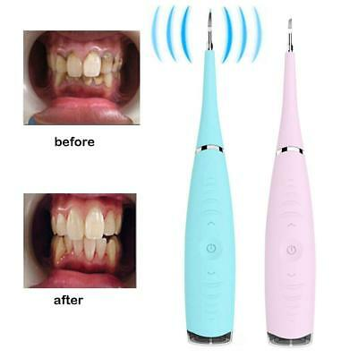 Household Electric Dental Calculus Remover Rechargeable Scraper Plaque Tartar