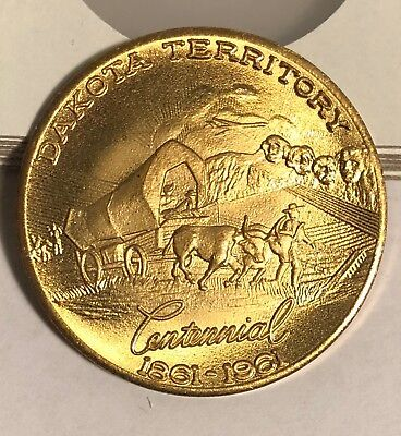 Dakota Territory Centennial  1861-1961  South Dakota Souvenir Coin