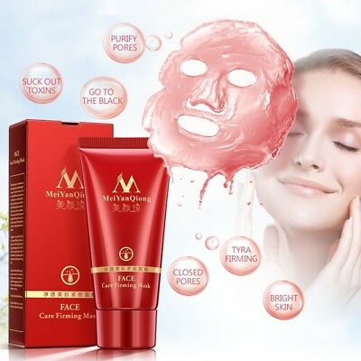 Black Head Remover Face Mask Purifying Pore Deep Cleanse Peel-Off Facial Mud 50g