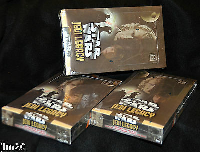 Three Boxes of  2013 Topps Star Wars Jedi Legacy, Factory Sealed, Hobby