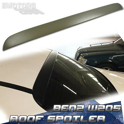 PAINTED For MERCEDES BENZ ABS OE W205 SALOON REAR ROOF SPOILER C180 C63 C250