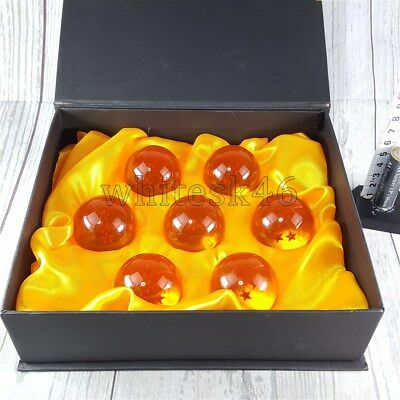Dragon Ball Z Seven Stars Ball Official Figure Set Anime Manga Authentic /3356