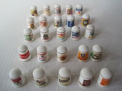 "1981 Franklin Mint ""The Country Store"" Thimble Collection. Limited Edition of 25"