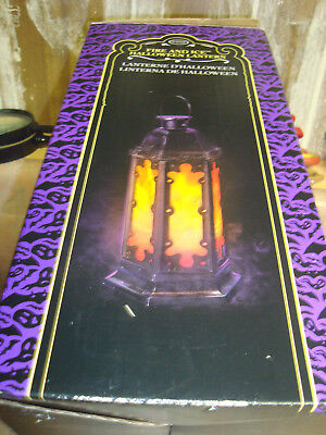 Fire And Ice Halloween Lantern..Approx 14 in