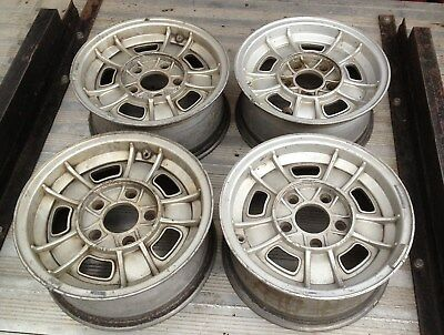4  BMW E9  E3  CS CSL Alufelgen original FPS 6x 14 alloy wheels / Originalkarton