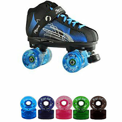 Jackson Rave Outdoor Roller Skates with Atom Pulse Wheels Size 1-12