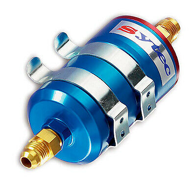 Sytec Motorsport High Flow Fuel Filter 10mm Inlet 8mm Outlet