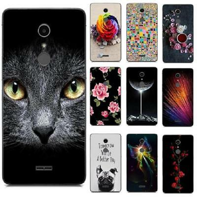 For Wiko U Pulse Feel Lite Prime Go FAB Tommy 2 Plus Phone Case Back Cover Rose