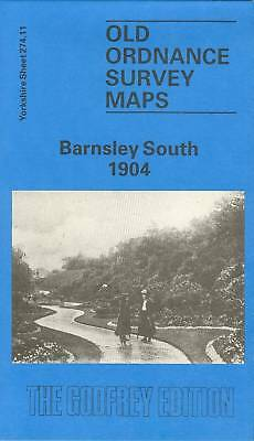 Old Ordnance Survey Map Barnsley South 1904