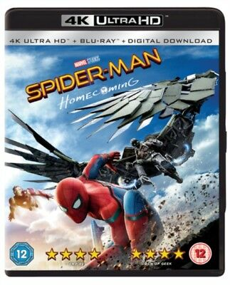 Spider-Man Homecoming (2 Disc Bd & Uhd)