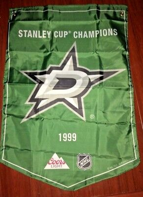 2018 coors light   STANLEY CUP CHAMPIONS BANNER  DALLAS STARS   NEW