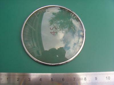 OS#45 1930'S Mantle Clock Part Bezel & Convex Glass max outer dia 155mm
