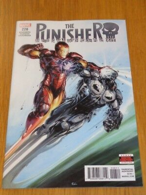 Punisher #228 Marvel Comics September 2018 Vf (8.0)