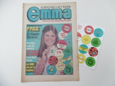 'Emma' Comic, September 23rd 1978 with Free Gift.