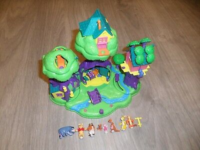 Jouet Disney BLUE BIRD 1998 Polly Pocket , Winnie The Pooh, 100% Acre Wood