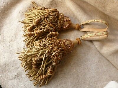 Antique Pair Of French Passementerie Tassels