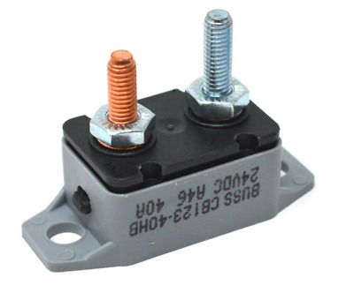 Boat Marine Manual Circuit Breaker for Trolling Motor 50 Amp 24VDC 75155-B