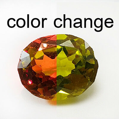 6.83 Cts Ideal Cut Peerless Amazing Color Change Natural Diaspore