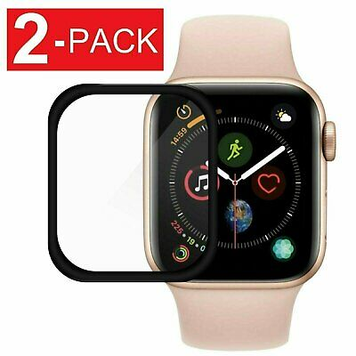 2-Pack For Apple Watch Series 4 40/44mm Full Tempered Glass Screen Protector