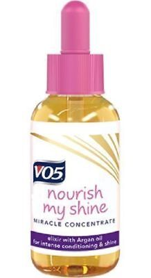 VO5 Nourish My Shine Miracle Concentrate Elixir with Argan Oil 50ml