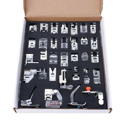Sewing Machine Foot Presser Feet 32pcs/ Set Domestic for Singer Hot Brand New