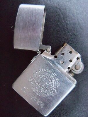 "BRIQUET ZIPPO  ""We trench the earth""  Code F IX   1993"