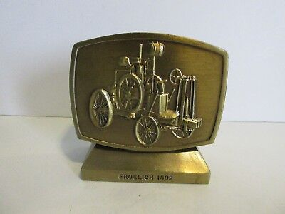 1981 John Deere Employees Credit Union 4th Edition Coin Bank-Froelich Tractor